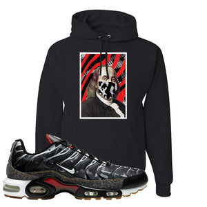 Air Max Plus Remix Pack Hoodie | Ben Franklin Mask, Black