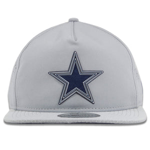 Dallas Cowboys 2018 On Field Golfer Mesh Gray Training Snapback Hat