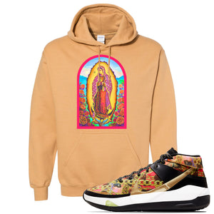 KD 13 Hype Hoodie | Old Gold, Virgin Mary