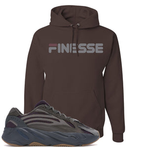 Yeezy Boost 700 Geode Sneaker Hook Up Finesse Brown Hoodie