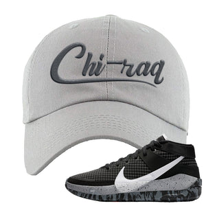 KD 13 Oreo Dad Hat | Chiraq, Light Gray