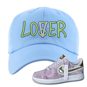 Air Force 1 P[her]spective Dad Hat | Light Blue, Lover
