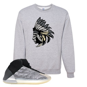 Yeezy Quantum Crewneck | Ash, Indian Chief