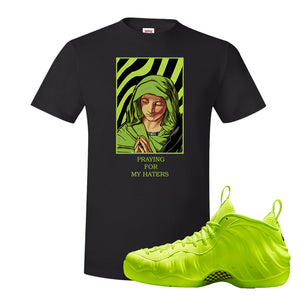 Air Foamposite Pro Volt T Shirt | God Told Me, Black