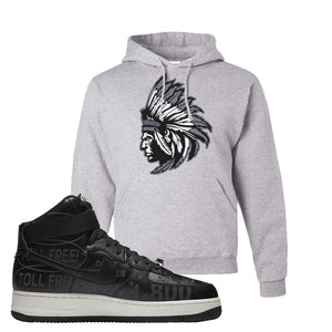 Air Force 1 High Hotline Hoodie | Indian Chief, Ash