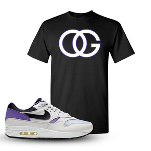 Air Max 1 DNA Series Sneaker Black T Shirt | Tees to match Nike Air Max 1 DNA Series Shoes | OG