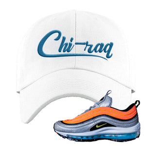 Air Max Plus Sky Nike Dad Hat | White, Chiraq