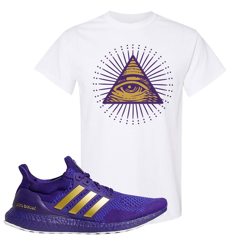Ultra Boost 1.0 Washington T Shirt | All Seeing Eye, White