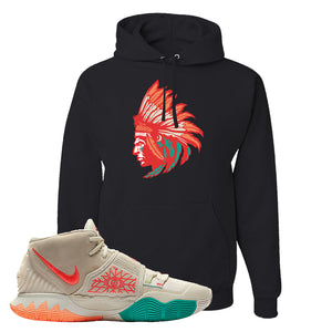 Kyrie 6 N7 T Shirt | Black, Indian Chief