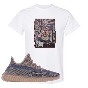 Yeezy Boost 350 V2 Fade T-Shirt | Attack Of The Bear, White
