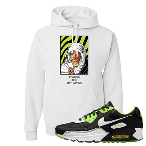 Air Max 90 Exeter Edition Black Hoodie | God Told Me, White