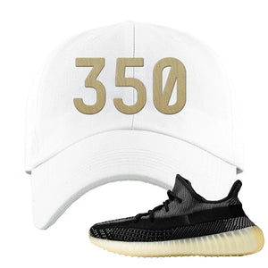 Yeezy Boost 350 v2 Carbon Dad Hat | 350, White