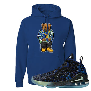 LeBron 17 Constellations Hoodie | Sweater Bear, Royal Blue
