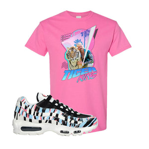 Air Max 95 Korea Tiger Stripe T Shirt | Azalea, Retro Tiger King