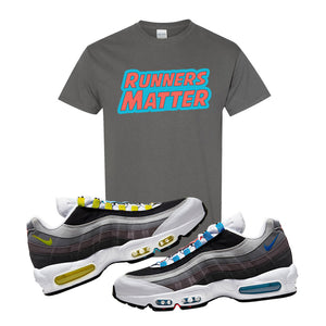 Air Max 95 QS Greedy T Shirt | Charcoal, Runners Matter