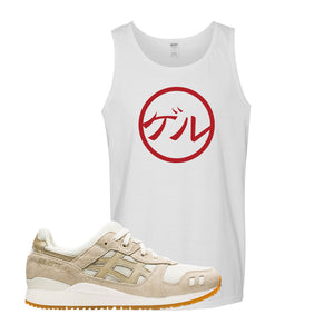 GEL-Lyte III 'Monozukuri Pack' Tank Top | White, Japanese Circle