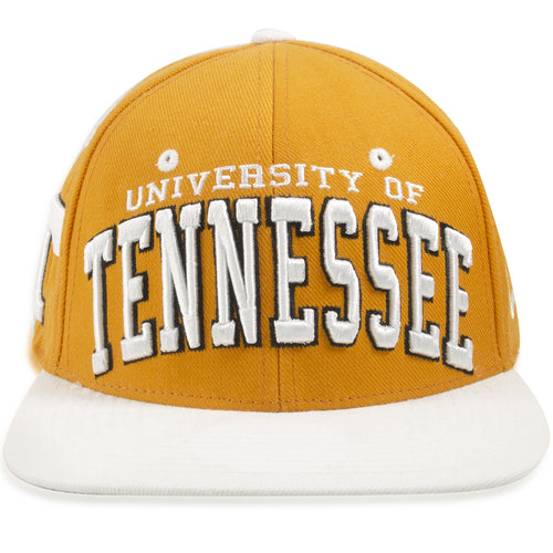 University of Tennessee Volunteers Orange on White Snapback Hat