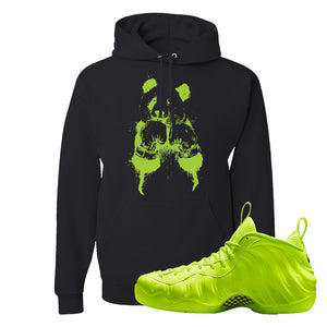 Air Foamposite Pro Volt Hoodie | Boxing Panda, Black