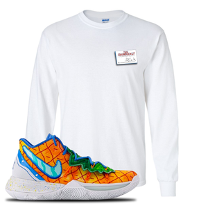 Kyrie 5 Pineapple House Longsleeve T-Shirt | White, Rick