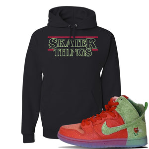 SB Dunk High 'Strawberry Cough' Hoodie | Black, Skater Things