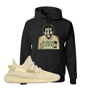 Yeezy Boost 350 V2 Flax Hoodie | Black, Escobar Illustration