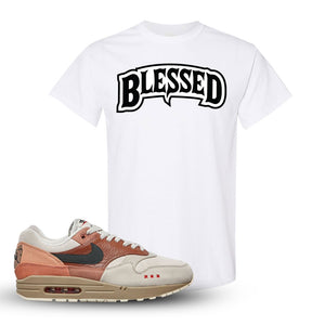 Air Max 1 Amsterdam City Pack T Shirt | White, Blessed Arch