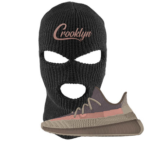 Yeezy 350 v2 Ash Stone Ski Mask | Crooklyn, Black