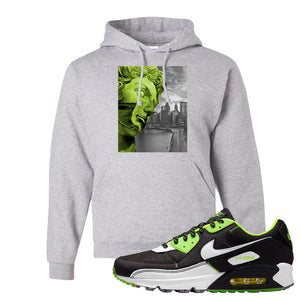 Air Max 90 Exeter Edition Black Hoodie | Miguel, Ash