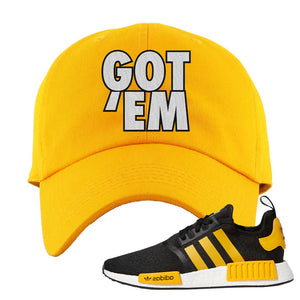NMD R1 Active Gold Dad Hat | Gold, Got Em