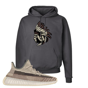 Yeezy 350 v2 Zyon Hoodie | Smoke Grey, Indian Chief