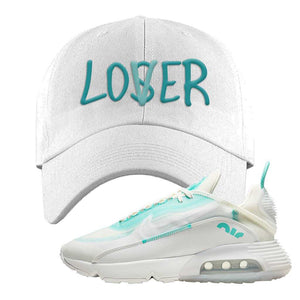 Air Max 2090 Pristine Green Dad Hat | White, Lover