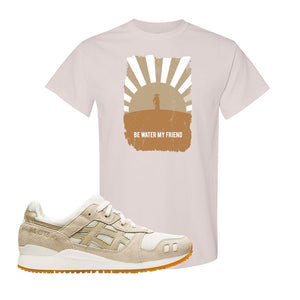 GEL-Lyte III 'Monozukuri Pack' T Shirt | Natural, Be Water My Friend Samurai