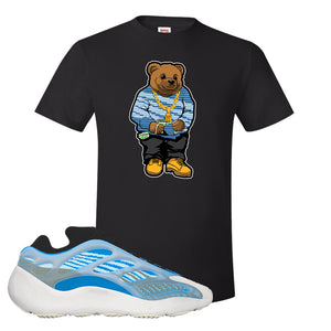 Yeezy 700 v3 Azareth T Shirt | Black, Sweater Bear