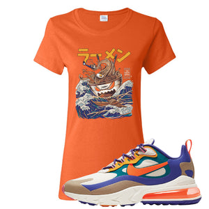 Air Max 270 React ACG Women's T-Shirt | Orange, Ramen Monster