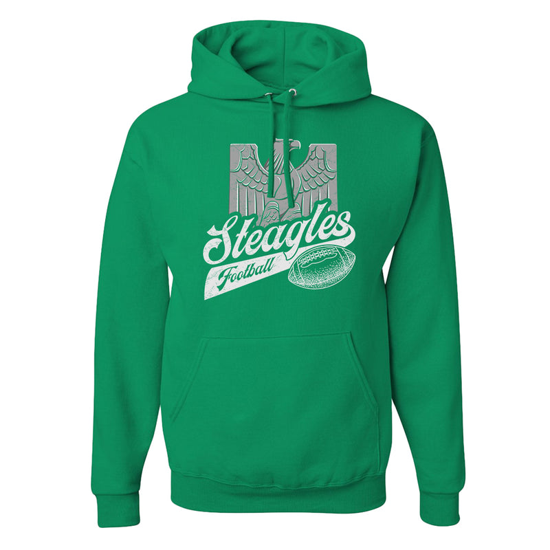 BROAD AND MARKET | STEEGLES | PULLOVER HOODIE | KELLY GREEN HEATHER