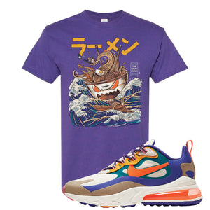 Air Max 270 React ACG T-Shirt | Lilac, Ramen Monster