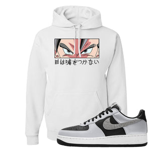 Air Force 1 3M Snake Hoodie | Eyes Don't Lie, White