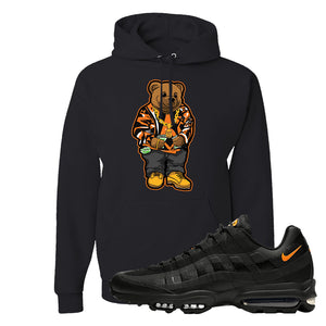 Air Max 95 Ultra Spooky Halloween Pullover Hoodie | Sweater Bear, Black
