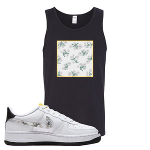 Air Force 1 Tank Top | Black, Daisy Box Logo