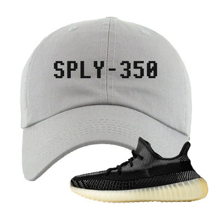 Yeezy Boost 350 v2 Carbon Dad Hat | Sply-350, Light Gray