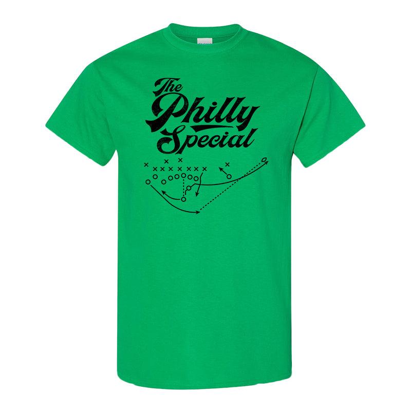 BROAD AND MARKET | THE PHILLY SPECIAL DIAGRAM | T-SHIRT | IRISH GREEN