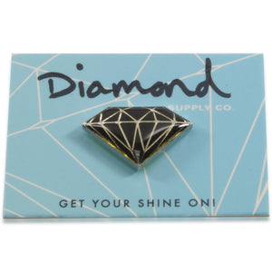 Diamond Supply Co Black Pin