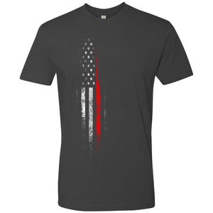 Standard Issue Red Lives Matter Distressed Gray Grunt Life T-Shirt