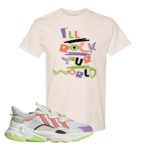 Ozweego Chaos T Shirt | Natural, I'll Rock Your World