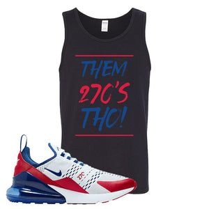 Air Max 270 USA Tank Top | Black, Them 90's Tho