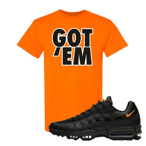 Air Max 95 Ultra Spooky Halloween T Shirt | Got Em, Safety Orange