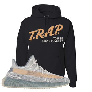 Yeezy Boost 350 V2 Israfil Hoodie | Black, Trap To Rise Above Poverty