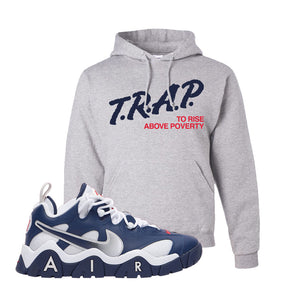 Air Barrage Low USA Hoodie | Ash, Trap To Rise Above Poverty