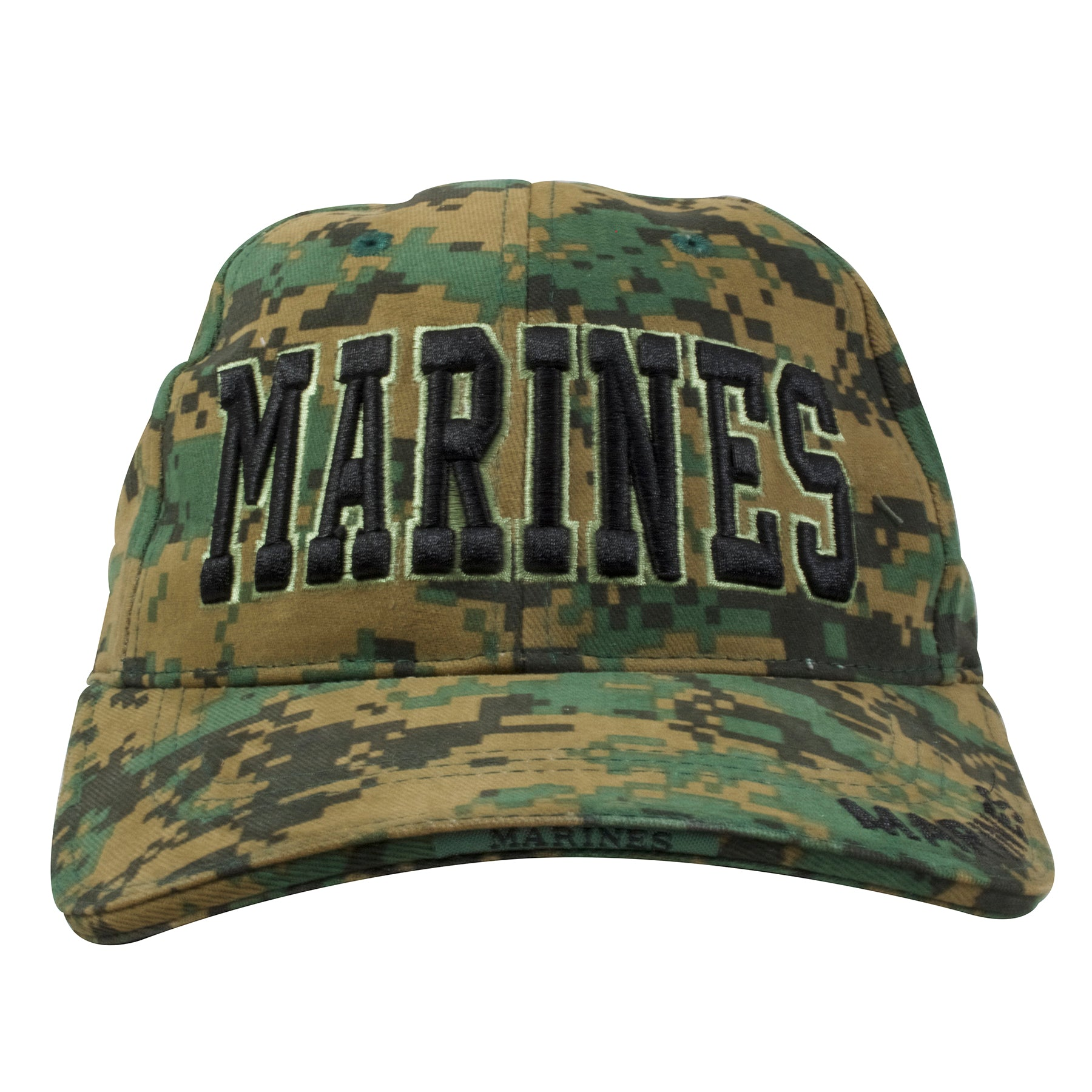 c27719be9e4 Marines MARPAT Digital Camouflage Adjustable Baseball Cap – Cap Swag
