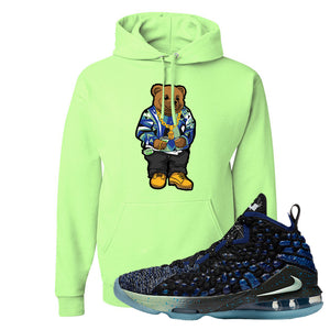 LeBron 17 Constellations Hoodie | Sweater Bear, Neon Green